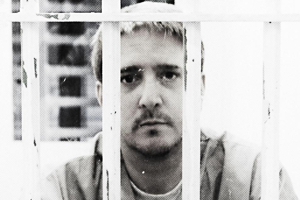 richard-glossip - Credit: Photo illustration based on photograph by Janelle Stecklein/Community Newspaper Holdings Inc./AP