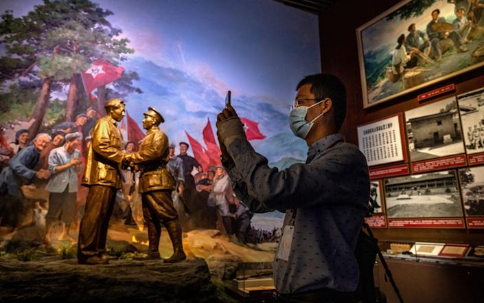 China will mark the 100th anniversary of the founding of the Communist Party on July 1st - Kevin Frayer/Getty Images