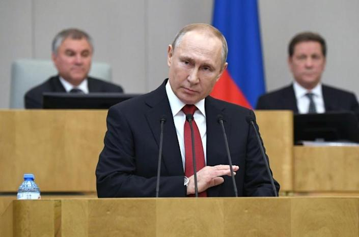 Until recently, Putin had repeatedly denied he had any intention of remaining in power (AFP Photo/Alexey NIKOLSKY)