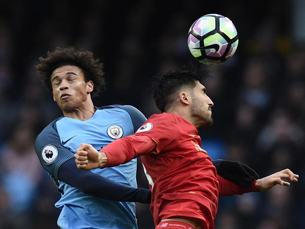 Sane was impressive for City on the wing (Getty)