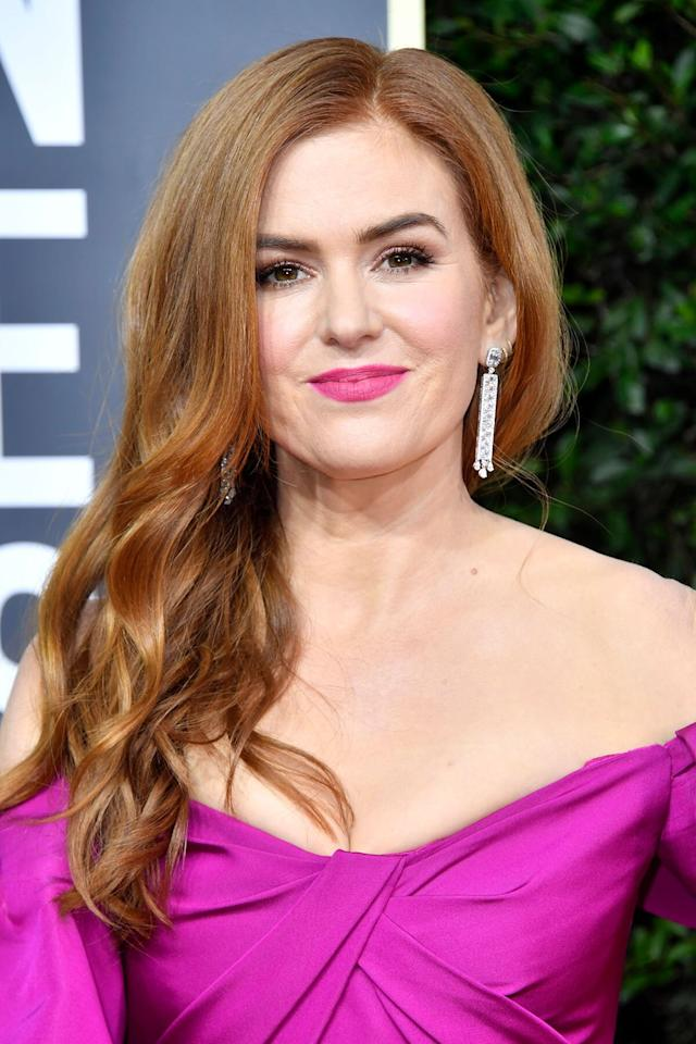 """<p>Red lipstick aside, fuchsia is another shade that instantly elevates a look. The color just seems to always work, whether you're on the red carpet like Isla Fisher or doing happy hour with your co-workers. Makeup artist <a href=""""https://www.instagram.com/storyofmailife/"""" target=""""_blank"""">Mai Quynh</a> mixed <a href=""""https://click.linksynergy.com/deeplink?id=93xLBvPhAeE&mid=2417&murl=https%3A%2F%2Fwww.sephora.com%2Fproduct%2Flip-maestro-liquid-lipstick-P393411&u1=IS%2CPinkMakeupLooks%2Clukase%2C%2CIMA%2C3516251%2C202001%2CI"""" target=""""_blank"""">Armani Beauty's Lip Maestro Liquid Lipstick in 504 and 505</a> to get just the right shade of pink. </p>"""