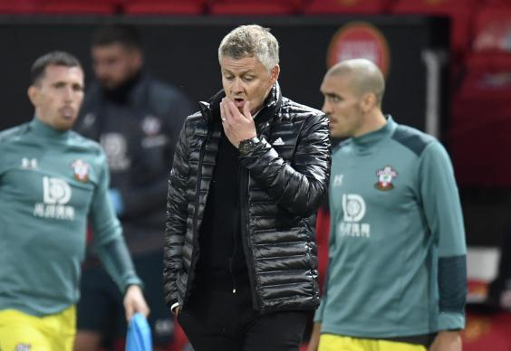Ole Gunnar Solskjaer's side dropped two points late on (2020 Pool)