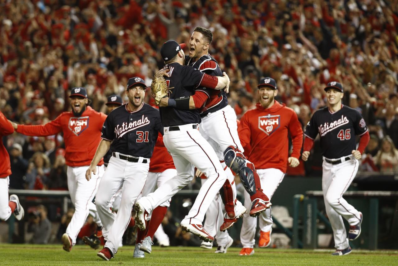 The Washington Nationals are all grown up and headed to first World Series