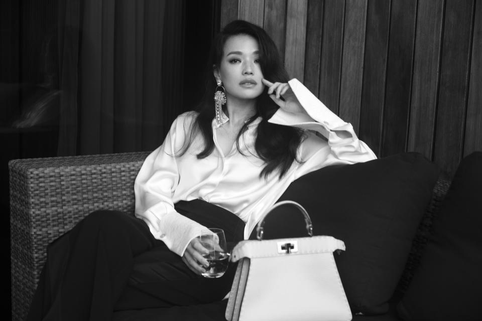 Shu Qi at Fendi Shanghai show. (PHOTO: Fendi)