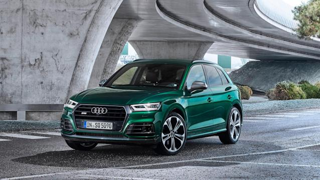 Here's Audi's diesel performance crossover.