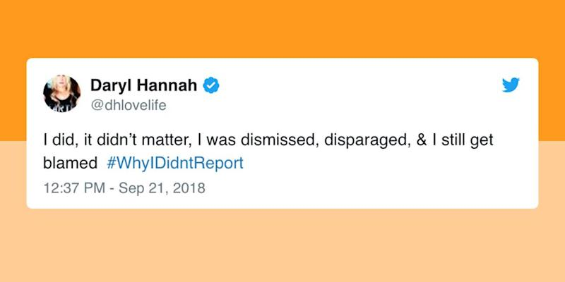 Twitter users explain #whyIdidntreport after Trump attacks Christine Blasey Ford's credibility