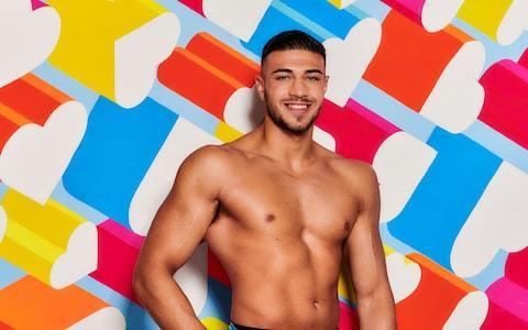 Tommy Fury was subjected to unwanted kisses by an Irish model - Credit: ITV Picture Desk