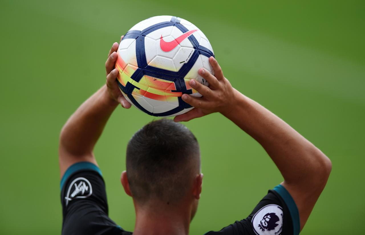 Soccer Football - Brentford vs Southampton - Pre Season Friendly - June 22, 2017  General view of premier league ball  Action Images via Reuters/Adam Holt