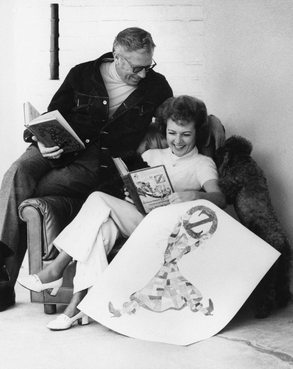 """<p>In the early '60s, Betty revealed her relationship with Allen Ludden, a TV game show host. The couple <a href=""""https://www.insider.com/betty-white-facts-career-2019-1#whites-showbiz-career-could-have-been-cut-short-if-she-stayed-with-second-husband-lane-allan-10"""" rel=""""nofollow noopener"""" target=""""_blank"""" data-ylk=""""slk:met on the set of"""" class=""""link rapid-noclick-resp"""">met on the set of </a><em><a href=""""https://www.insider.com/betty-white-facts-career-2019-1#whites-showbiz-career-could-have-been-cut-short-if-she-stayed-with-second-husband-lane-allan-10"""" rel=""""nofollow noopener"""" target=""""_blank"""" data-ylk=""""slk:Password"""" class=""""link rapid-noclick-resp"""">Password</a> </em>in 1961 and began dating shortly after. </p>"""