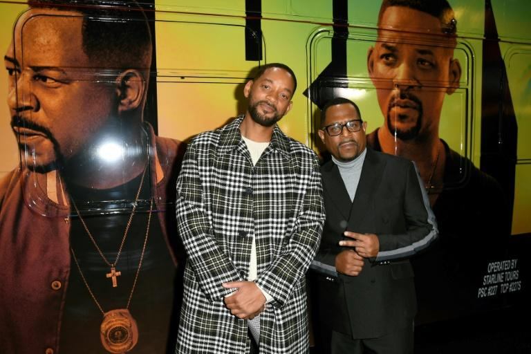 "HOLLYWOOD, CALIFORNIA - JANUARY 14: (L-R) Will Smith and Martin Lawrence attend the premiere of Columbia Pictures' ""Bad Boys For Life"" at TCL Chinese Theatre on January 14, 2020 in Hollywood, California"