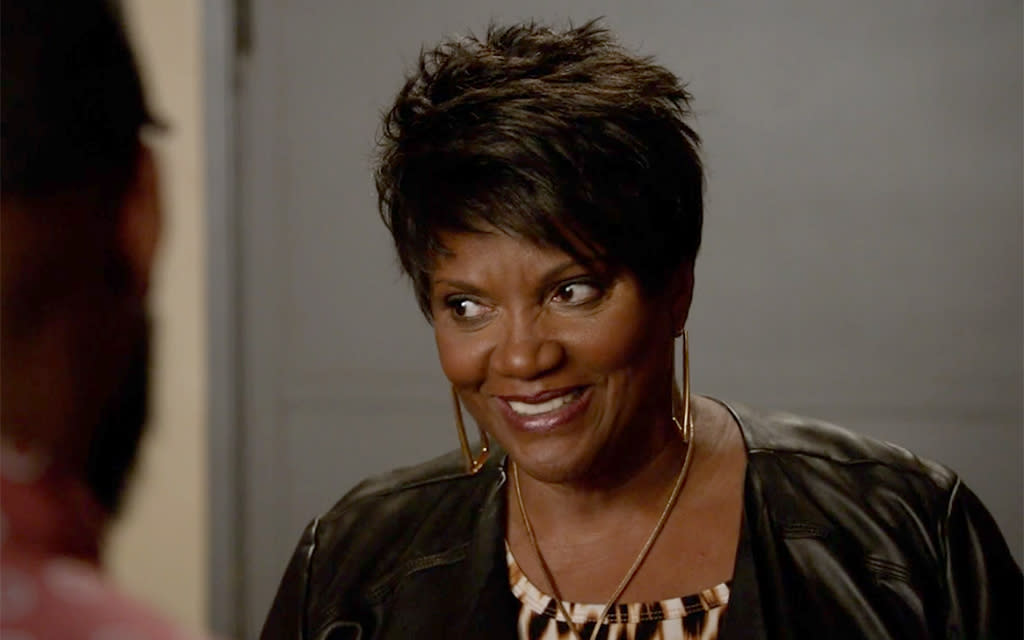 <p>A Daytime Emmy nominee for her role as Vivienne on <em>The Bold and the Beautiful</em>, Anna Maria Horsford is best known for her role as Thelma on <em>Amen</em>, as well as security guard Dee on <em>The Wayans Bros</em>. and ADA Encardi on <em>The Shield.</em> She's also Winston's mom Charmaine on <em>New Girl</em>.<br /><br />(Photo: Fox) </p>