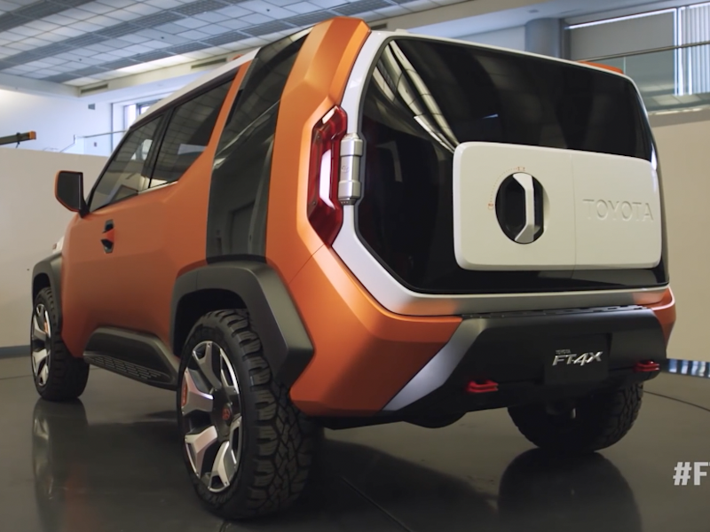 Toyota's new concept for millennials has built-in camping hacks