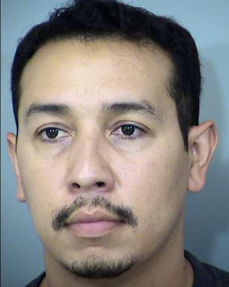 In this undated photo released by the Maricopa County Sheriff's Office shows Arizona State Sen. Tony Navarrete. Sen. Navarrete has been arrested on suspicion of charges accusing him of sexual conduct with a minor, police said Friday, Aug. 6, 2021. (Maricopa County Sheriff's Office via AP)