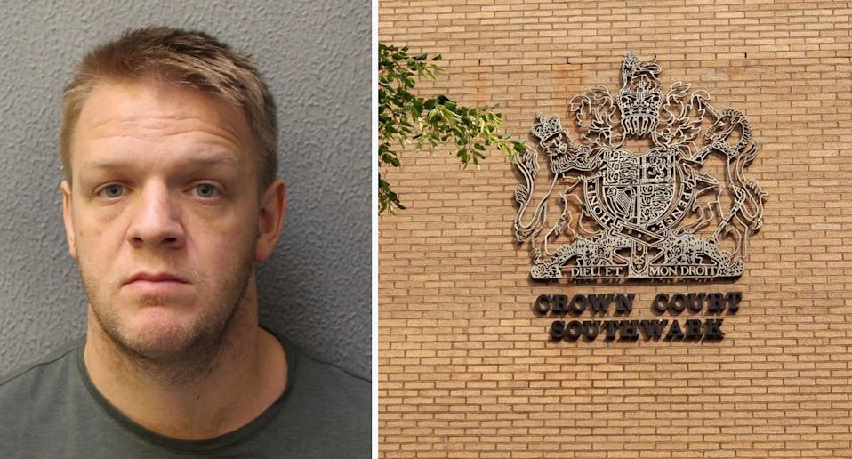 PC Charlie Harrison was sentenced at Southwark Crown Court to two years and three months in prison. (Metropolitan Police/PA)