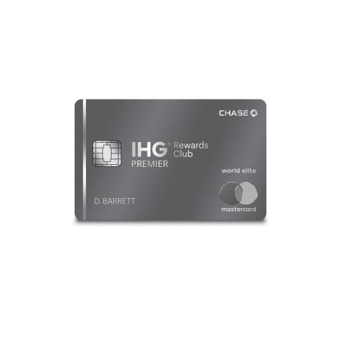 CORRECTING and REPLACING PHOTO IHG® Rewards Club Premier Credit Card Launches Most Rewarding Offer Yet