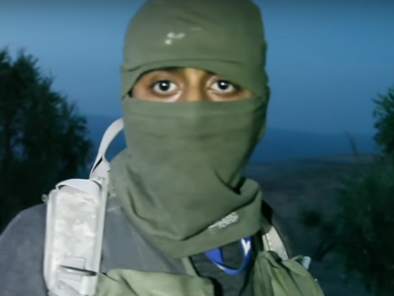 Mohammed Yamin, 25, was jailed for 10-and-a-half years for fighting with al-Qaeda in Syria (Vice/YouTube)