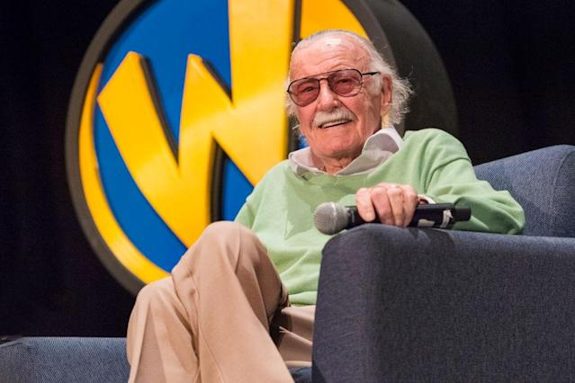 Stan Lee appears at Wizard World Comic Con on Jan. 6 in New Orleans. (Photo: Erika Goldring/Getty Images)