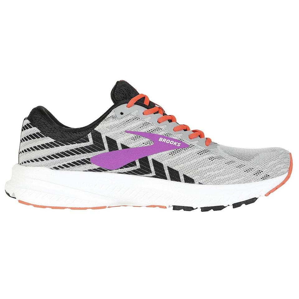 """When I discovered the Brooks running shoe in the Launch style—the (now sold-out) magnificent tie-dye print—I tossed every other running shoe I owned. The Launch is made for a neutral runner (no pronation), and it fits my wide foot comfortably without looking like a boat or feeling constrictive. They are super light and got me through my first marathon and several half marathons pain-free. I now own six pairs, and no other running shoe will ever cross my closet threshold. I even wore a new pair straight out of the gates on a major run with no problems, pains, or regrets! Also noteworthy: Brooks has a 90-day trial run/guarantee on its shoes, so you can run in them and return if they don't work for you; they are affordable compared to other major brands, at $100 or less; and they come in no shortage of prints, both the stylish and the more sedate. I promise, I don't work for Brooks! 😂 <em>—Holly Crawford, freelance writer and editor</em> $74.95, Amazon. <a href=""""https://www.amazon.com/Brooks-Womens-Launch-Running-Shoe/dp/B07D3YCYW3?th=1&psc=1"""" rel=""""nofollow noopener"""" target=""""_blank"""" data-ylk=""""slk:Get it now!"""" class=""""link rapid-noclick-resp"""">Get it now!</a>"""