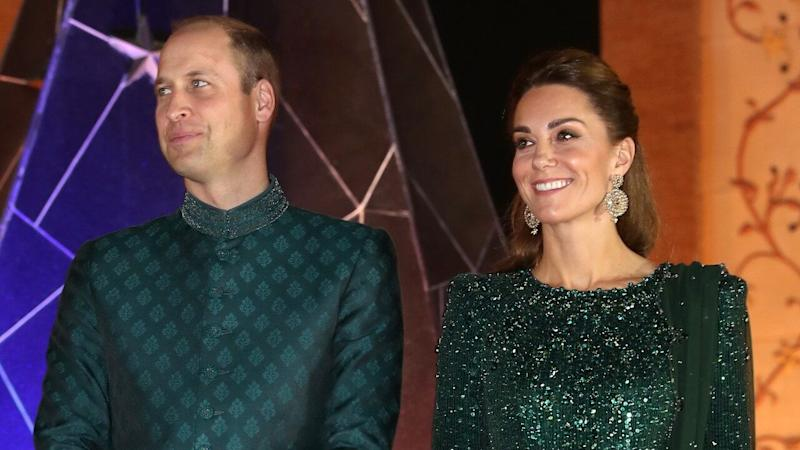 Kate Middleton Goes Glam in Emerald Sequin Gown for Reception During Pakistan Tour