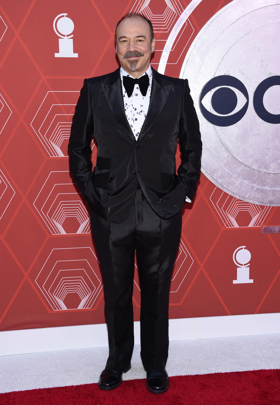 Danny Burstein arrives at the 74th annual Tony Awards at Winter Garden Theatre on Sunday, Sept. 26, 2021, in New York. (Photo by Evan Agostini/Invision/AP)