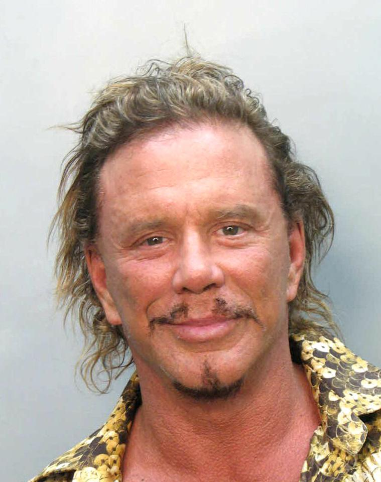 <b>Who:</b> Mickey Rourke<br /><b>What:</b> Arrested for DUI (on a Vespa)<br /><b>Where:</b> Miami, Florida<br /><b>When:</b> November 8, 2007