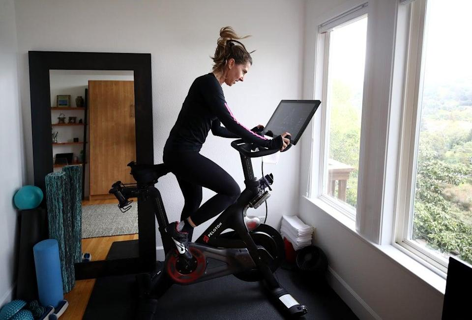 Peloton blocks users from creating Stop The Steal tag on app (Getty Images)