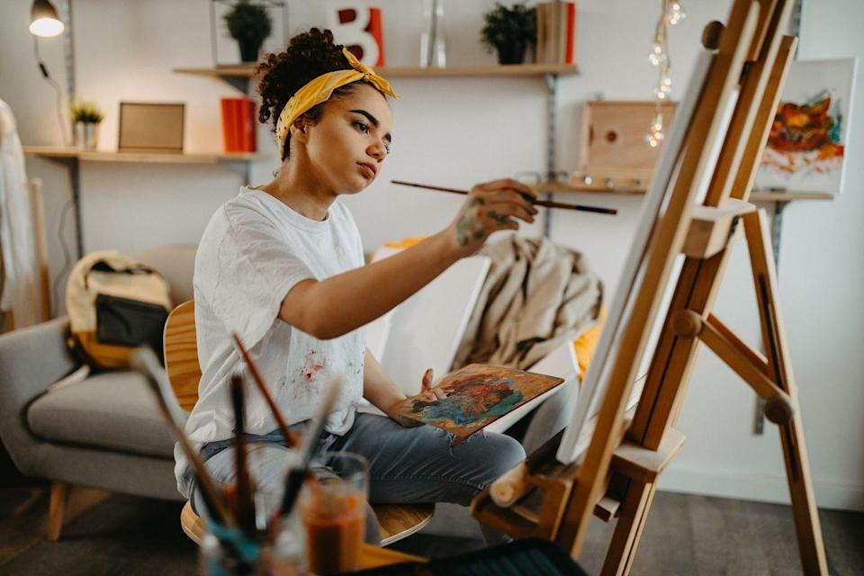 <p>Draw each other. Yes, really. This could be very romantic or really offensive depending on your art skills (and how nice you're feeling). Either way it's a fun activity and you could frame your finished masterpieces if you're still together by the end of the evening.</p>