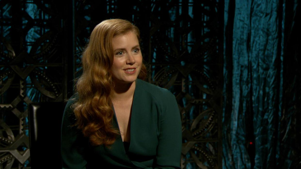 """Amy Adams Is Game for Playing """"First Time"""" Game"""
