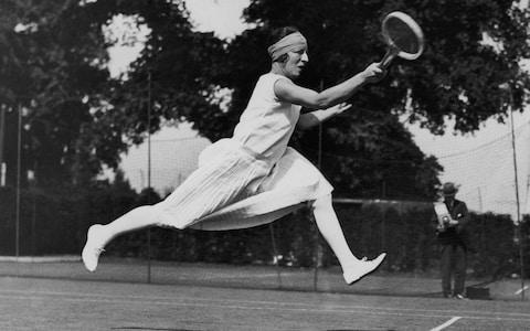 French tennis player Suzanne Lenglen - Credit: HULTON ARCHIVE
