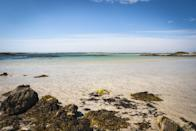 """<p>Tiree is an outstanding destination for those seeking sandy shores; with 15 beaches to choose from and the Gulf Stream bringing a warm climate to the area. Watersports fans will love the wind here too and Tiree offers the perfect environment for surfing. Visit <a href=""""https://www.blackhouse-watersports.co.uk/"""" rel=""""nofollow noopener"""" target=""""_blank"""" data-ylk=""""slk:Blackhouse Watersports"""" class=""""link rapid-noclick-resp"""">Blackhouse Watersports</a> on Balevullin Beach to try out surfing. </p><p><strong>Where to stay: </strong><a href=""""https://go.redirectingat.com?id=127X1599956&url=https%3A%2F%2Fwww.expedia.co.uk%2FTiree-Island-Hotels-Tiree-Lodge-Hotel-Isle-Of-Tiree-Scotland.h3507460.Hotel-Information&sref=https%3A%2F%2Fwww.prima.co.uk%2Ftravel%2Fg36694479%2Fbest-beaches-scotland-where-to-stay%2F"""" rel=""""nofollow noopener"""" target=""""_blank"""" data-ylk=""""slk:Tiree Lodge Hotel"""" class=""""link rapid-noclick-resp"""">Tiree Lodge Hotel</a> is a family run hotel with beautiful beach and sea views. <a href=""""https://www.reef-tiree.com/"""" rel=""""nofollow noopener"""" target=""""_blank"""" data-ylk=""""slk:The Reef Inn"""" class=""""link rapid-noclick-resp"""">The Reef Inn</a>, which still has some limited summer availability left, is a newly opened and, proudly eco-friendly hotel with a highly insulated, energy efficient build, including air source heat for the underfloor heating.</p><p><a class=""""link rapid-noclick-resp"""" href=""""https://www.reef-tiree.com/"""" rel=""""nofollow noopener"""" target=""""_blank"""" data-ylk=""""slk:CHECK AVAILABILITY"""">CHECK AVAILABILITY</a></p><p>Alternatively, see the Hebrides' unspoilt coastlines during an island hopping adventure in 2022.</p><p><a class=""""link rapid-noclick-resp"""" href=""""https://www.countrylivingholidays.com/tours/scotland-hebrides-islands-islay-mull-cruise"""" rel=""""nofollow noopener"""" target=""""_blank"""" data-ylk=""""slk:FIND OUT MORE"""">FIND OUT MORE</a></p>"""