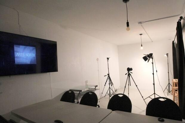 The photography area at Arts North Digital Studio will also be used for in-person workshops once COVID-19 restrictions are lifted.