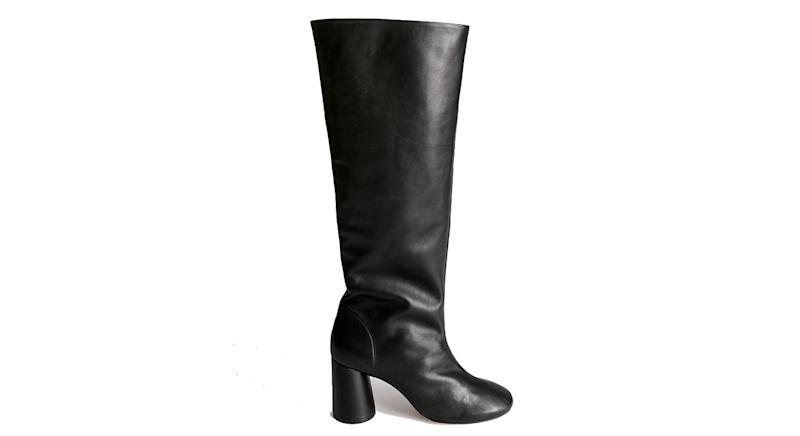 Geraffte Slouch Lederstiefel von & Other Stories | £205 (237,80 Euro)