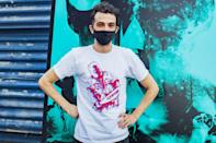 <p>Jay Baruchel arrives at the Canadian premiere of <i>Random Acts of Violence </i>held at The 5 Drive-In on Wednesday outside of Toronto. </p>