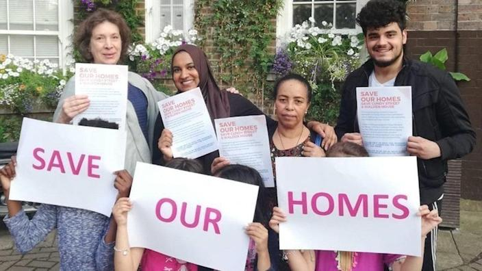 Residents have gathered more than 100,000 online signatures opposing the plans (Picture: Change.org)
