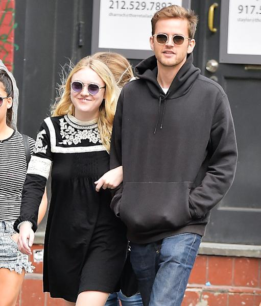 Dakota Fanning confirmed in 'Town & Country' that she and her boyfriend, model Jamie Strachan, recently split; plus, find out why she thinks dates are 'horrific'