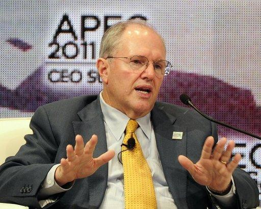 Microsoft executive Craig Mundie attends the Asia-Pacific Economic Cooperation summit in Honolulu on November 12, 2011