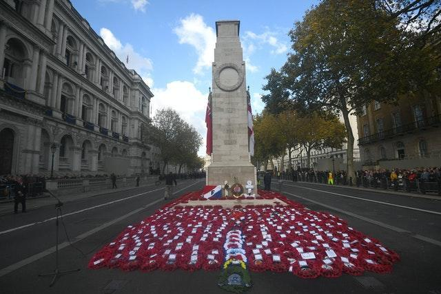 Remembrance Sunday events will be able to take place subject to restrictions