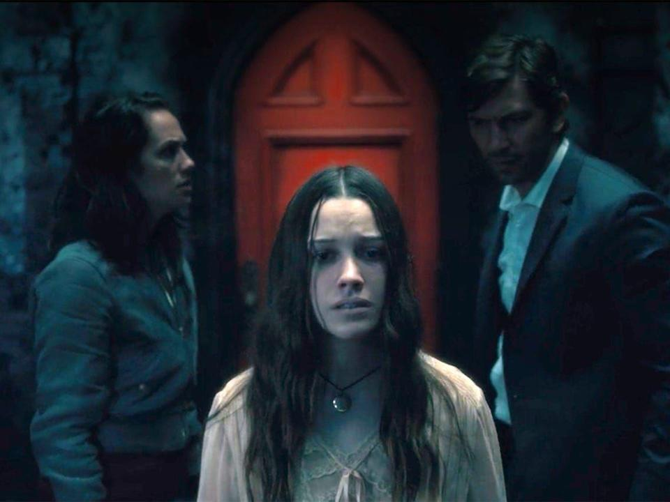 """<p>Even though the exact return date for many of our favorite shows is unknown at this point, one thing is for certain: viewers will get treated to serious spooks when the follow-up to <em>The Haunting of Hill House</em> hits <a href=""""https://www.cosmopolitan.com/uk/entertainment/a29736230/haunting-of-hill-house-season-two-haunting-bly-manor-cast-trailer/"""" rel=""""nofollow noopener"""" target=""""_blank"""" data-ylk=""""slk:Netflix this October"""" class=""""link rapid-noclick-resp"""">Netflix this October</a>. Not much is known about season two of <em>The Haunting</em> anthology, except that season one alum, Oliver Jackson-Cohen and Victoria Pedretti, are expected to return as new characters in a new haunting tale based on <em>The Turn of the Screw</em>.</p>"""