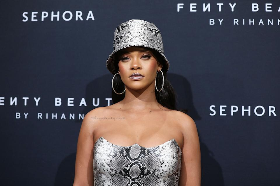 Rihanna is launching the highly-anticipated Fenty Skin at the end of the month (Getty Images)