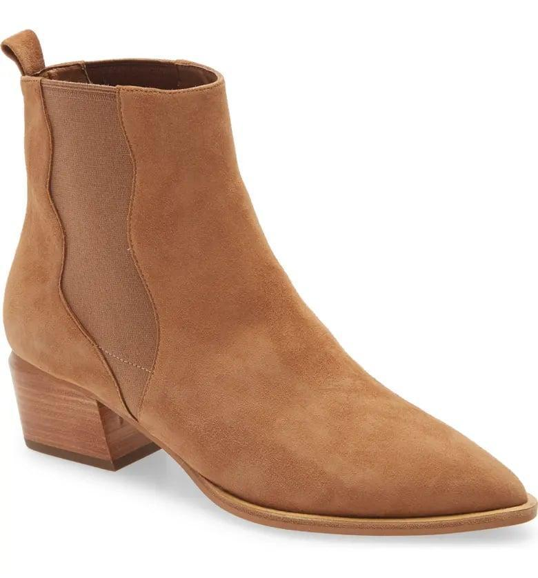 <p>We have tried and love the <span>Linea Paolo Vu Chelsea Bootie</span> ($150).</p>