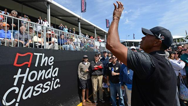 Tiger Woods is playing back-to-back weeks for the first time in almost a year as he tries to get his game in shape before the Masters. Follow his first round at PGA National with SN's live updates.