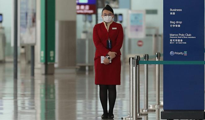 Cathay Pacific had initially appealed to its airline staff to take up to three weeks of unpaid leave. Photo: Winson Wong