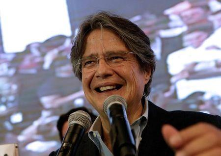 Ecuador exit polls project different winners in presidential vote