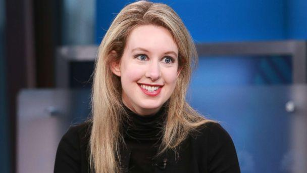 PHOTO: Elizabeth Holmes, Theranos CEO and the world's youngest self-made female billionaire, in an interview, Sept. 29, 2015. (David Orrell/CNBC via Getty Images)