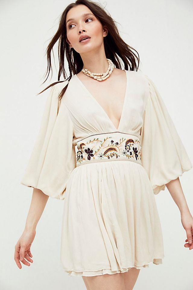 """<br><br><strong>Free People</strong> Moroccan Gemstone Mini Dress, $, available at <a href=""""https://go.skimresources.com/?id=30283X879131&url=https%3A%2F%2Fwww.freepeople.com%2Fshop%2Fmoroccan-gemstone-mini-dress%2F"""" rel=""""nofollow noopener"""" target=""""_blank"""" data-ylk=""""slk:Free People"""" class=""""link rapid-noclick-resp"""">Free People</a>"""