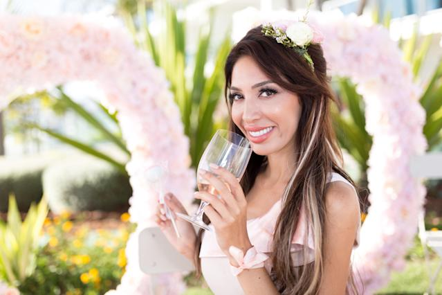 Farrah Abraham celebrates Rose Day on June 9, 2018. (Photo: Getty Images)