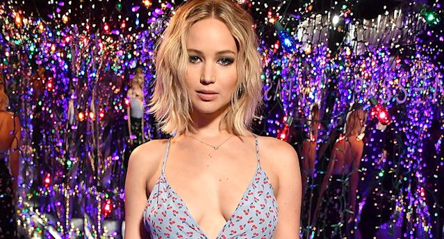 Jennifer Lawrence's second September Vogue cover has drawn criticism from both sides of the political aisle. (Photo: Getty Images)