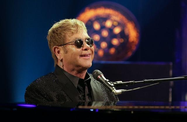 Sir Elton John is a guest on Harry and Meghan's first podcast. Daniel Leal-Olivas/PA Wire