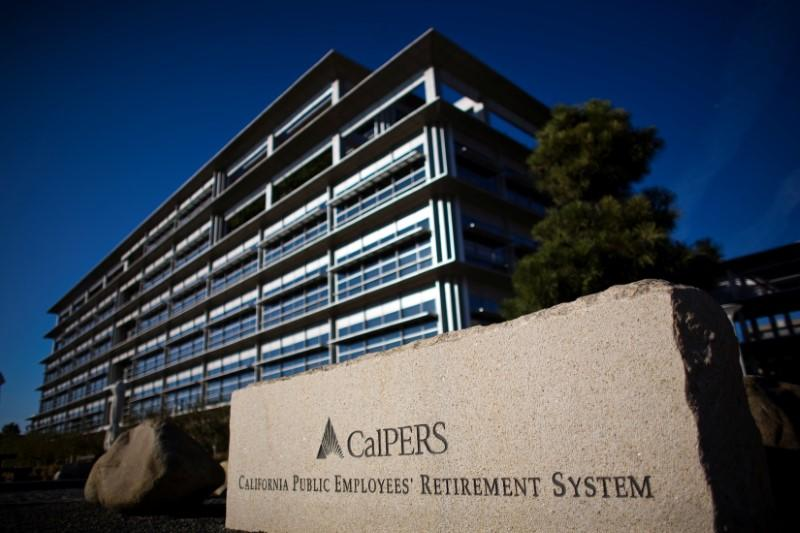 File photo of the headquarters of Calpers, the largest U.S. public pension fund, is seen in Sacramento