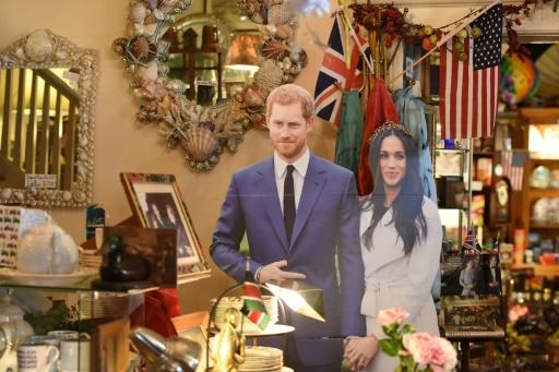 Royal wedding memorabilia and other Anglophile items adorn the cafe, where Meghan Markle brushed up on tea drinking etiquette